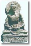 A bored Buddha
